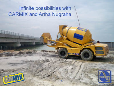 Infinite possibilites with CARMIX and Artha Nugraha